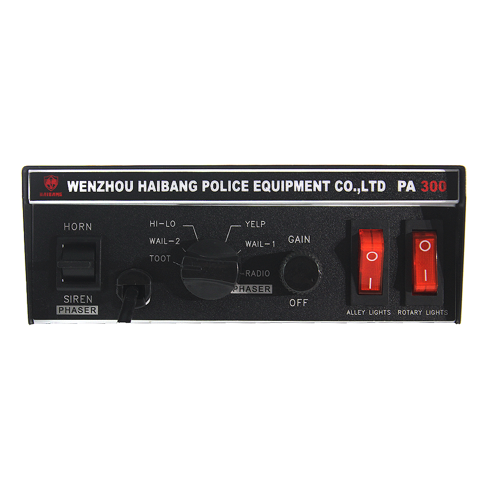Patrol Car Siren